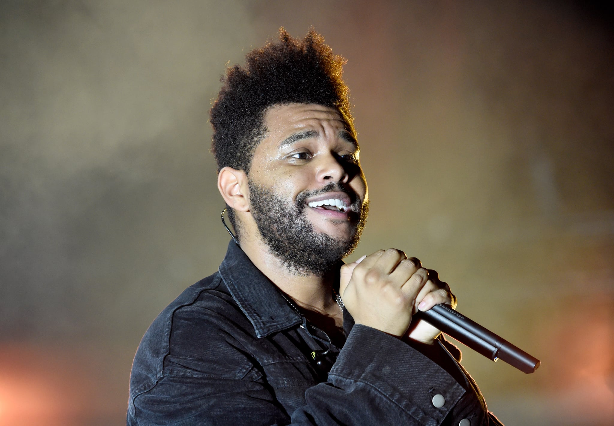 NEW YORK, NY - SEPTEMBER 29:  The Weeknd performs onstage during the 2018 Global Citizen Festival: Be The Generation in Central Park on September 29, 2018 in New York City.  (Photo by Kevin Mazur/Getty Images for Global Citizen)
