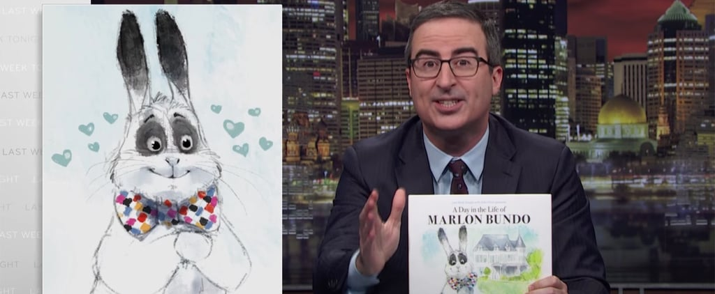 John Oliver Wrote a Children's Book About Mike Pence's Pet Bunny — but Here's the Kicker