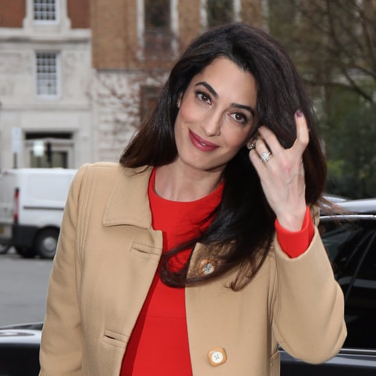 Amal Clooney's Spring Heels March 2017