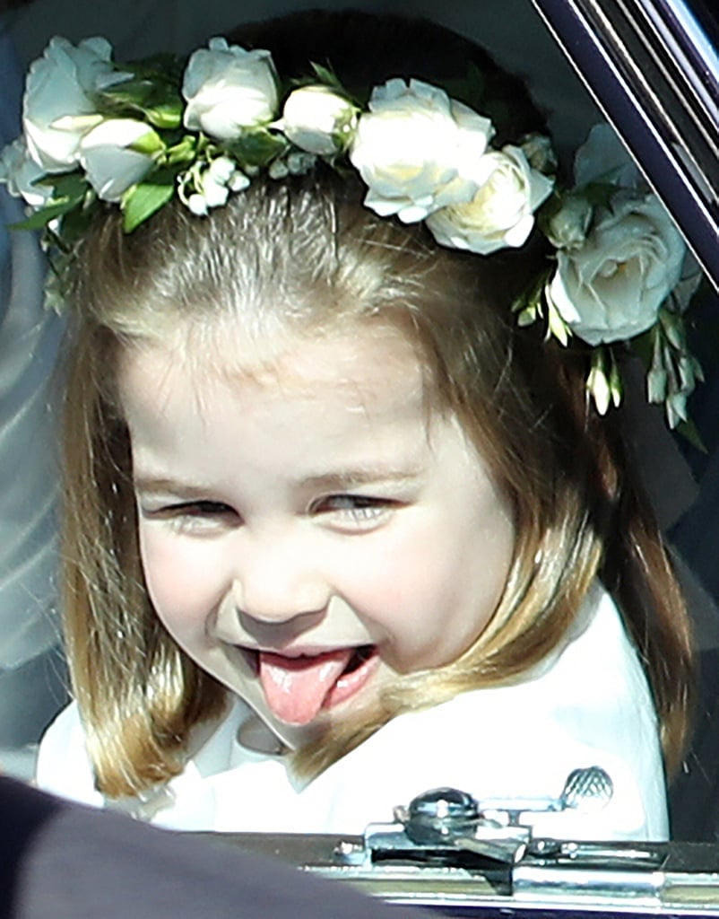 When Charlotte Made a Grand Entrance at Meghan and Harry's Royal Wedding
