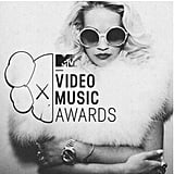 Rita Ora promised a glam show in fur and oversize shades. Source: Instagram user ritaora