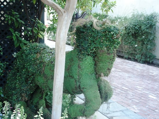 Midday Muse:  An Equine Topiary
