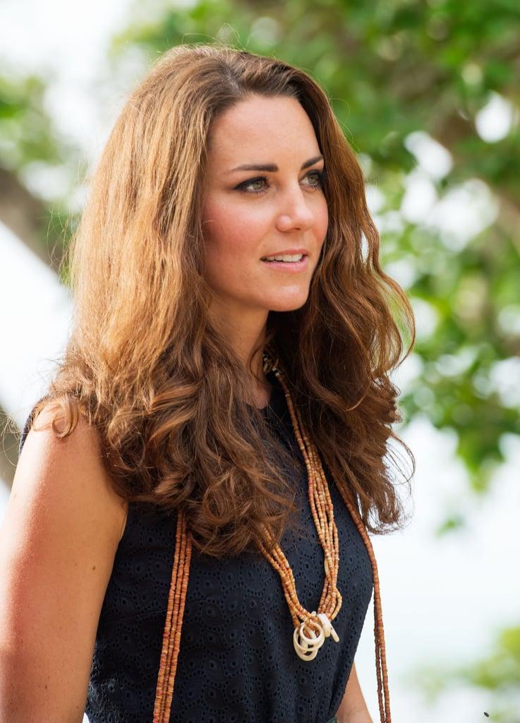 Kate Middleton's Natural Waves, 2012