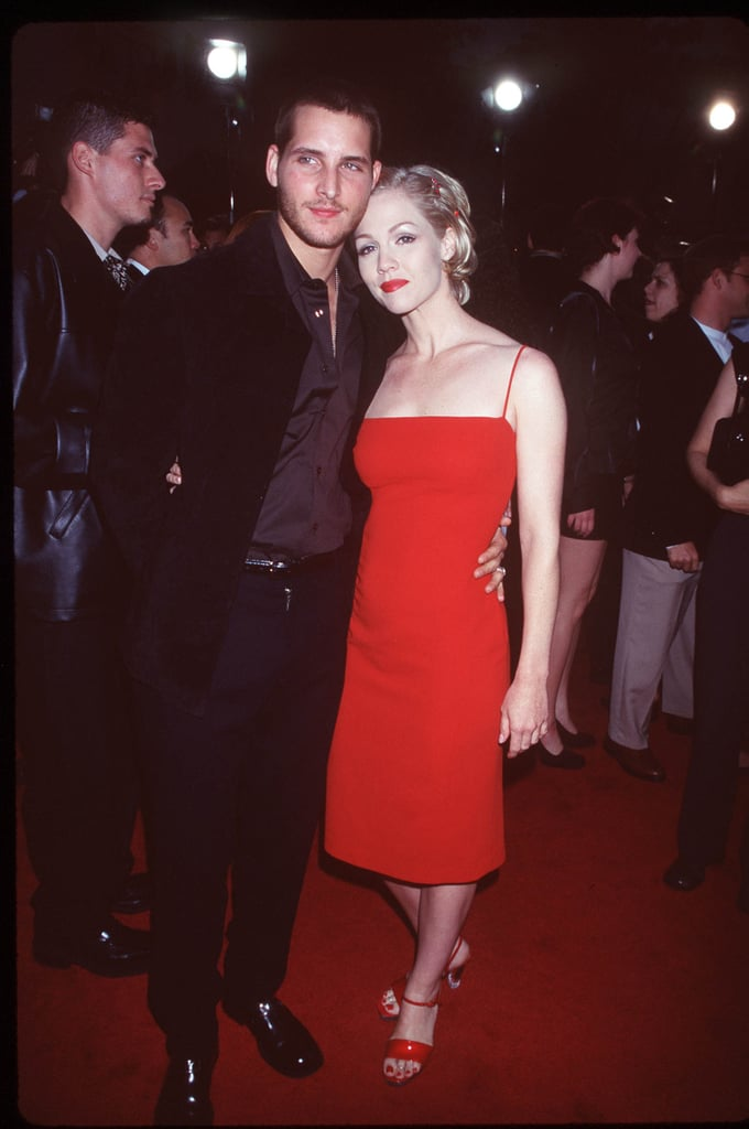 Peter Facinelli and Jennie Garth were on hand for the June 1998 premiere of Can't Hardly Wait.
