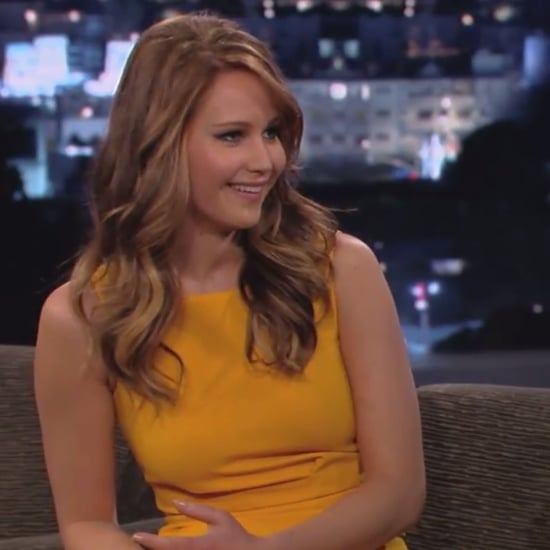 Jennifer Lawrence Interview on Jimmy Kimmel Live (Video)