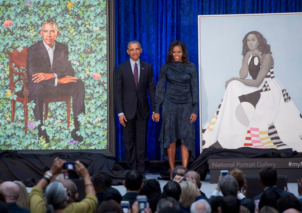 Barack and Michelle Obama Portrait Unveiling Event Pictures