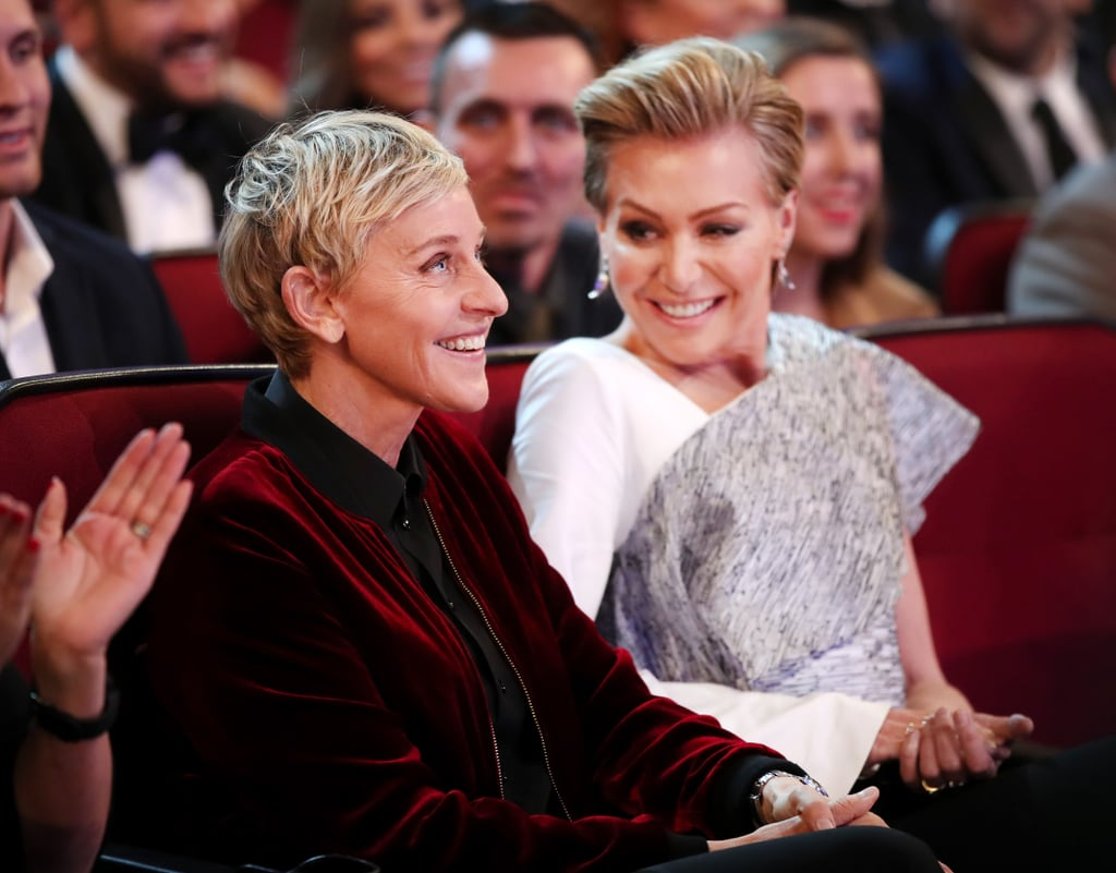 Ellen DeGeneres Portia de Rossi 2017 People's Choice Awards