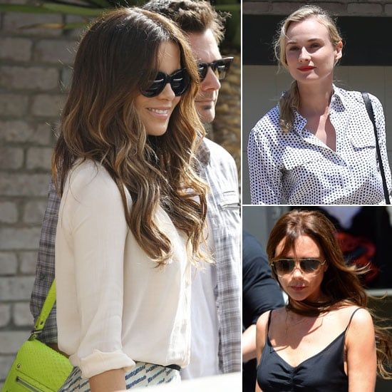 Victoria Beckham, Kate Beckinsale Out On Memorial Day
