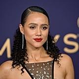 Nathalie Emmanuel at the 2019 Emmy Awards