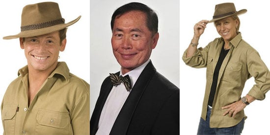 Photos of Joe Swash, George Takei and Martina Navratilova Who Are the Finalists on I'm A Celebrity Get Me Out Of Here 2008