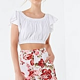 Laura Ashley UO Exclusive Carrie Floral High-Rise Short