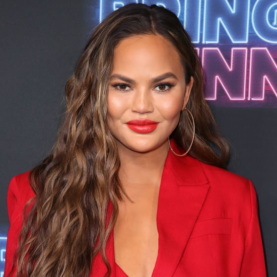 Chrissy Teigen's Post-Pregnancy-Announcement Manicure