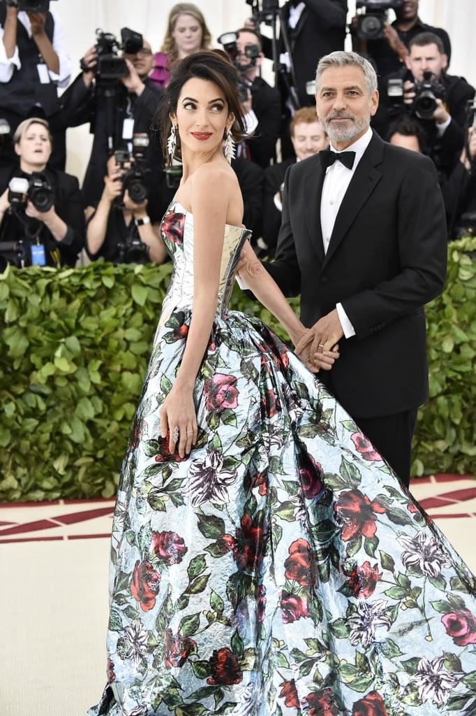 Amal et George Clooney au Met Gala 2018