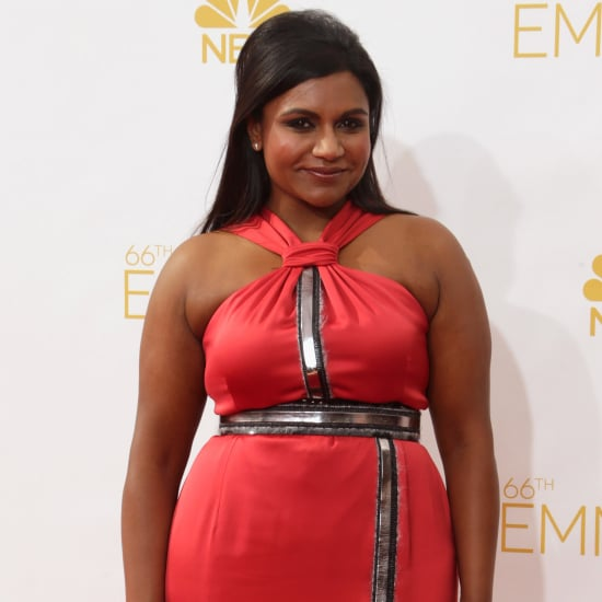 Mindy Kaling's Dress at Emmys 2014