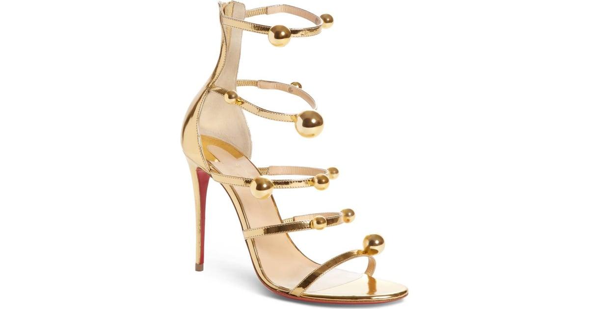 competitive price 57e3a 4e585 Christian Louboutin Atonana Ornament Sandal | Anne ...