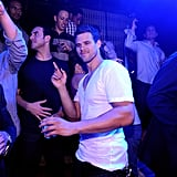 Kris Humphries danced at Lavo.