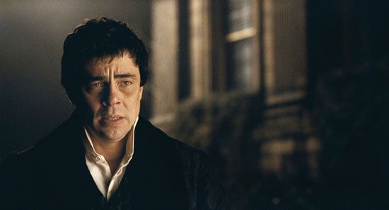 Benicio Del Toro and Emily Blunt star in The Wolfman in theatres this weekend, February 12, 2010