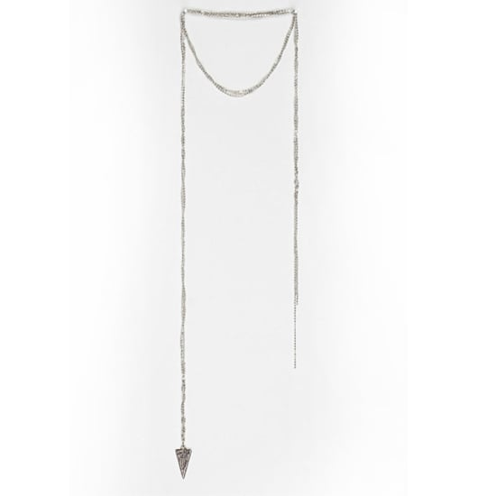 Urban Outfitters Triangle Chain Necklace, $29