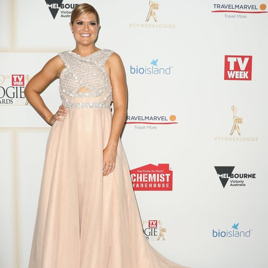 Sarah Harris Logies Red carpet 2017 Interview