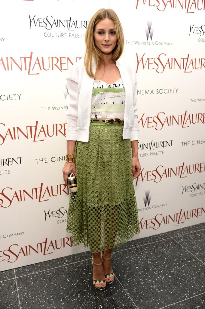 Olivia Palermo at the Cinema Society Screening of Yves Saint Laurent