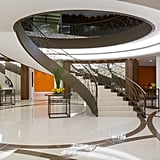Even the spiraled staircase is something to envy.