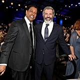 Pictured: Denzel Washington and Mel Gibson