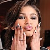 Zendaya's Chanel Nails at the Grammy Awards: Friends 'N' Family Party in 2013