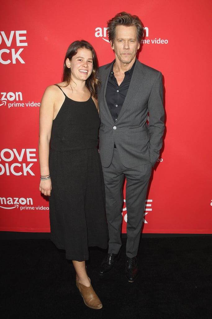 Kevin Bacon and Sosie Bacon at I Love Dick Premiere 2017