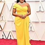 Mindy Kaling's 2020 Oscars Necklace Came With Security