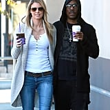 Eddie Murphy grabbed coffee with his girlfriend, Paige Butcher, in LA on Saturday.
