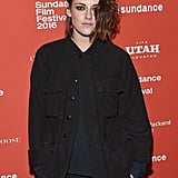Kristen Stewart Has Landed at the Snowy Sundance Film Festival