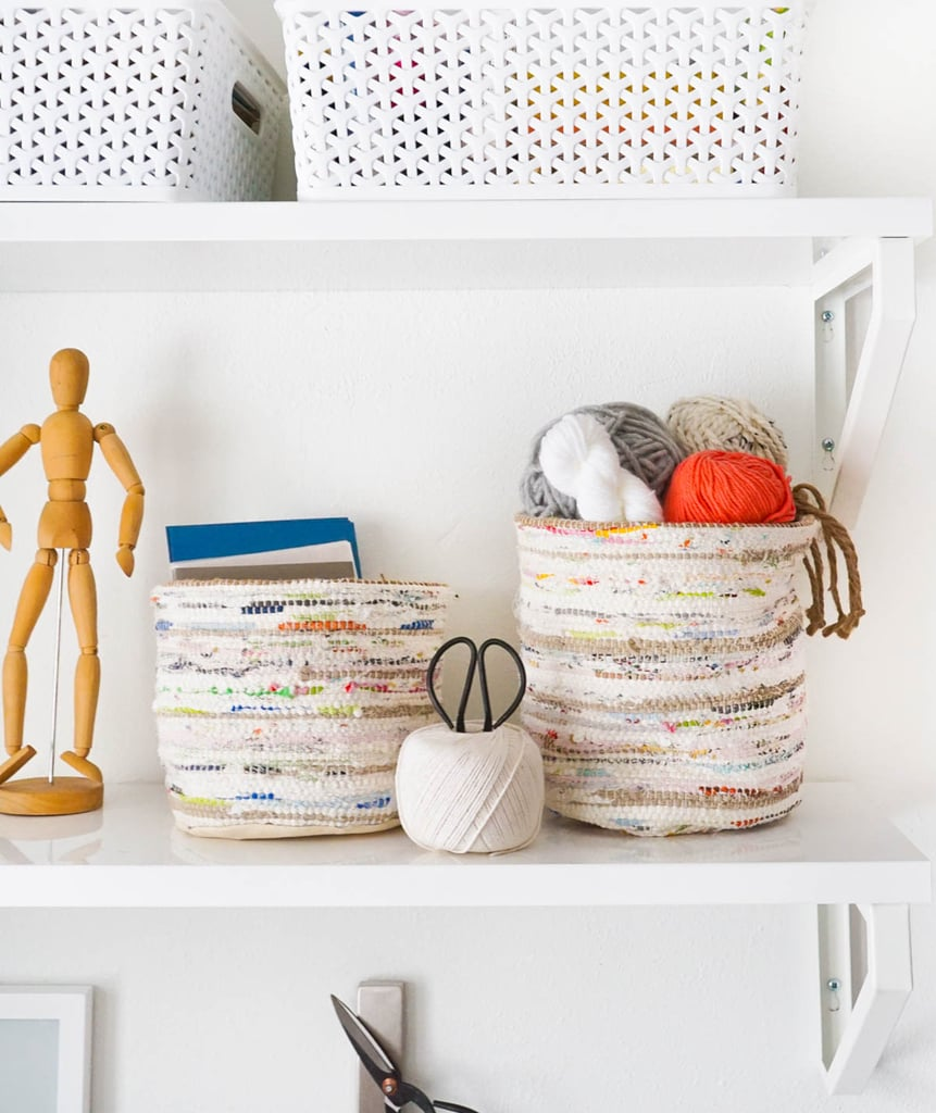 Rug Storage Basket