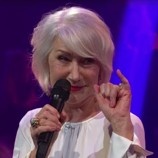 Helen Mirren and James Corden Rap Battle