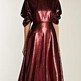 Emilia Wickstead Mariel Open-Back Sequined Gown