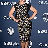 Kelly Osbourne slipped into a different dress for her night out.