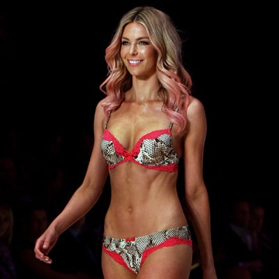 Jennifer Hawkins in Sexy Lovable Bra Pictures at 2012 Mercedes-Benz Fashion Festival Sydney Bendon Show