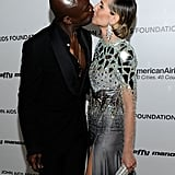 Seal and Heidi get intimate at an Academy Awards viewing party in 2011.