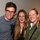 With Hannah Bagshawe and Sarah Burton.