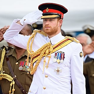 Prince Harry in Uniform Pictures