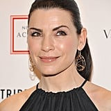 Julianna Margulies smiled at the 2012 Tribeca Ball in NYC.