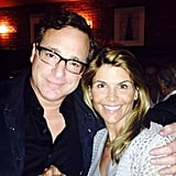 """Lori: """"Look who I found @craigsla Always so great to see you @bobsaget"""""""