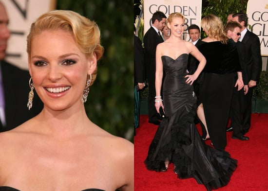 The Golden Globes Red Carpet: Katherine Heigl