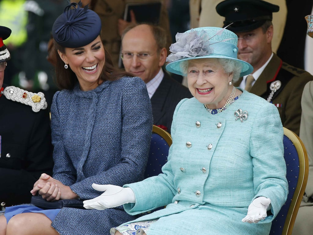 Least: When She Cracked Up With Kate Middleton