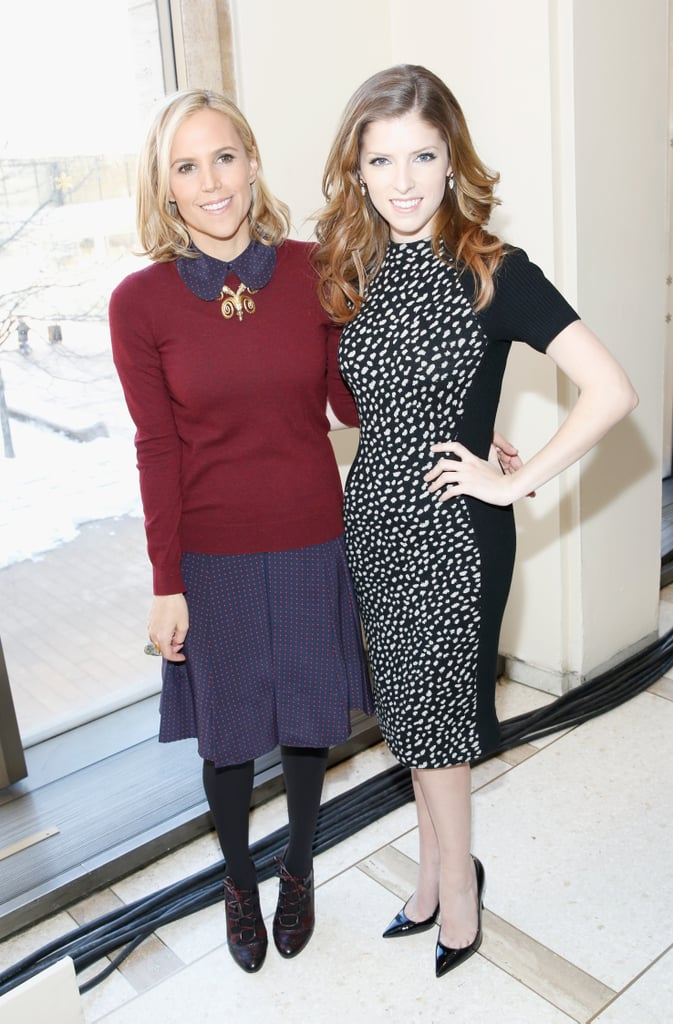 Tory Burch and Anna Kendrick