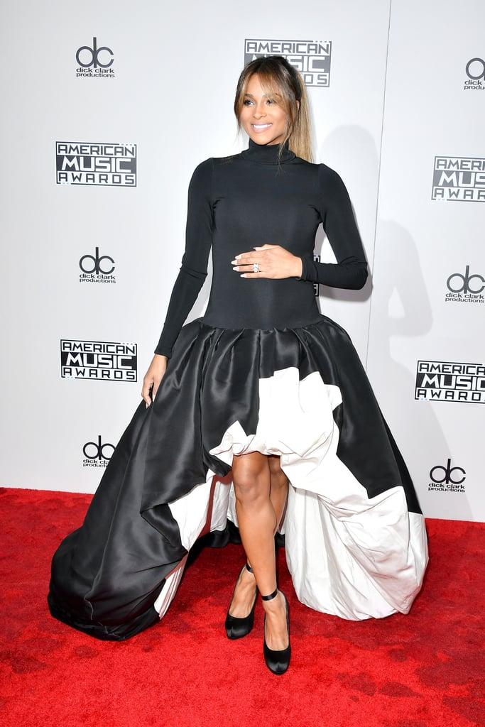 Ciara's Dress at the American Music Awards 2016