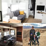 This Couple Transformed a Dated Trailer Into a Dreamy Vacation Home on Wheels