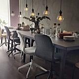 Langfjäll Swivel Chair With 4 Legs ($129 each)