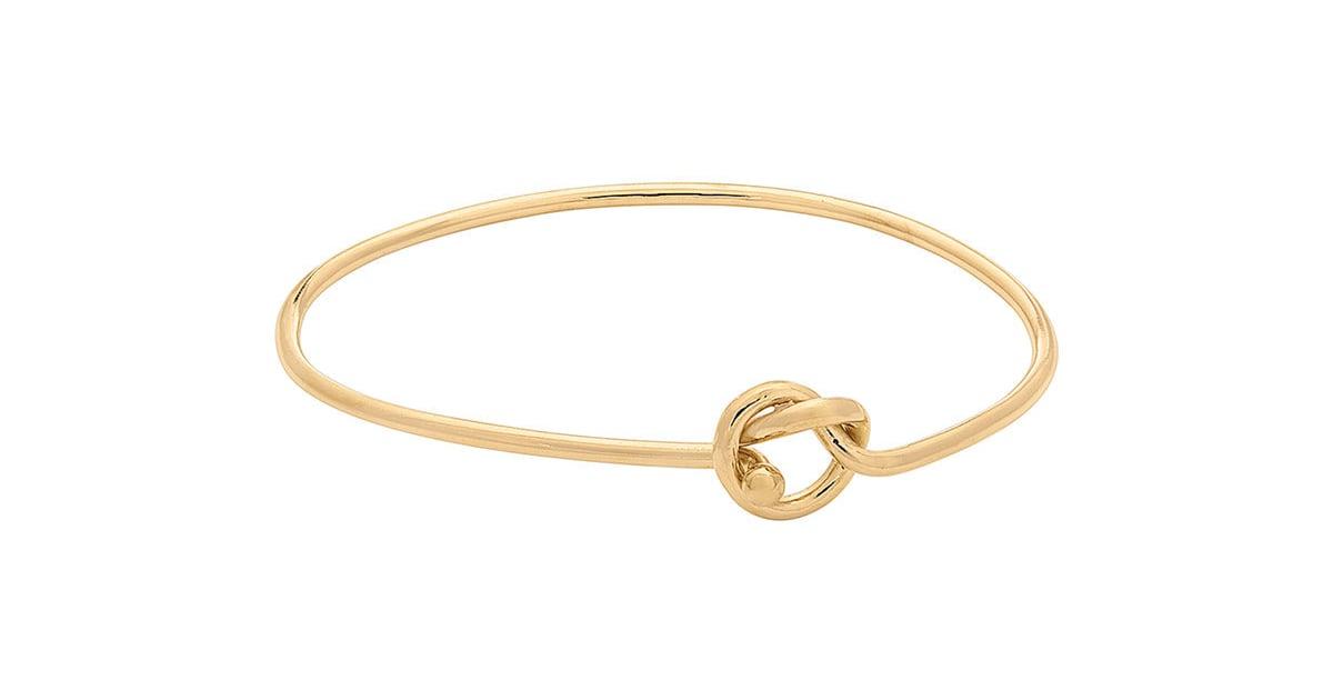 c4f9e8a564773 Kohl's 14k Gold Over Silver Love Knot Bangle Bracelet   Best Holiday ...