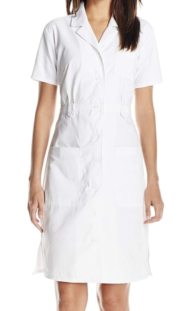 Dickies Button Front Scrubs Dress