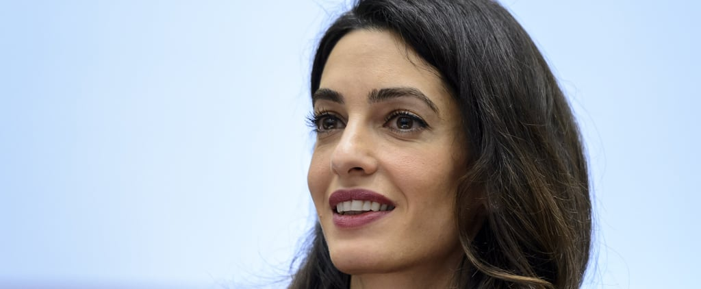 Amal Clooney Is Leaving Her Mark on the World — and It's Inspiring as Hell